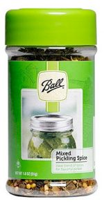 Ball 1440072800 1.8 oz. Mixed Pickling Spice