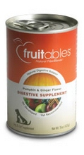 Bangalla 78838 Fruitables Pumpkin & Ginger Flavor Dog Digestive Supplements- 12x15 OZ