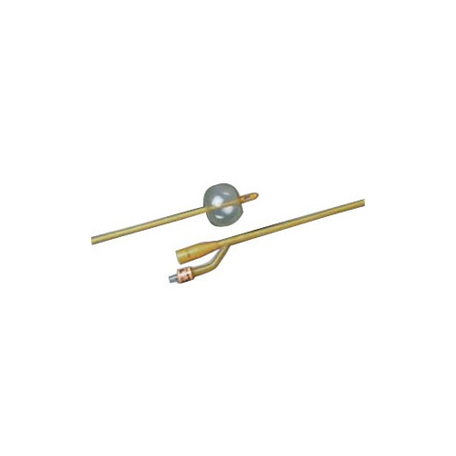 Bard Home Health Division 570165V20S 20 fr Silicone-Elastomer Coated 2-Way Foley Catheter