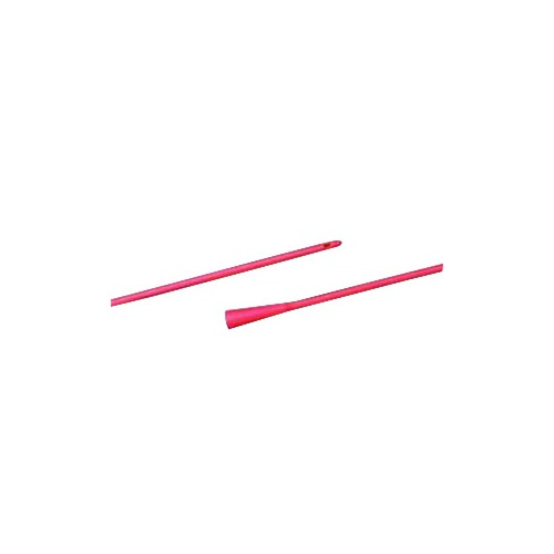 Bard Home Health Division 57056116 16 fr Robinson Urethral Catheter Red Latex