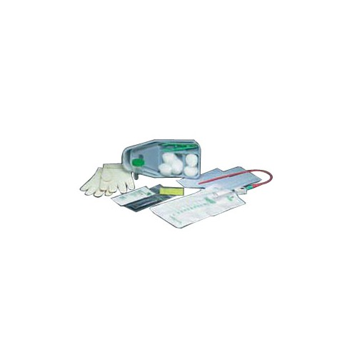 Bard Home Health Division 57772417 14 fr Bi-Level Tray with Plastic Catheter