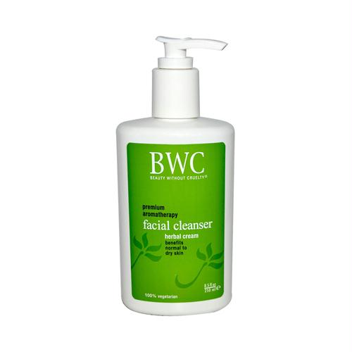 Beauty Without Cruelty 536649 Beauty Without Cruelty Facial Cleanser Herbal Cream - 8.5 fl oz