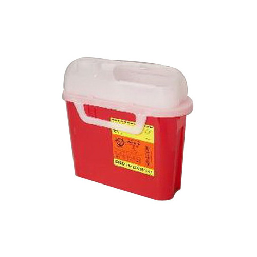 Becton Dickinson Consumer 58305444 5.4 qt Sharps Container Side Entry