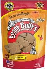 Benny Bullys BEN 43154 2.1 oz Liver plus Pumpkin Dog & Cat Treat