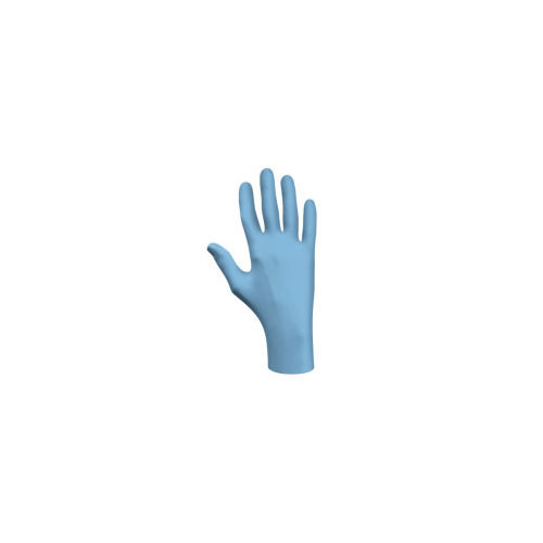 Best Glove 845-6005PFS Disposable Medical Exam Gloves Small - Blue