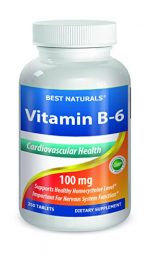 Best Naturals 614145 100 mg Vitamin B6 250 Tablet