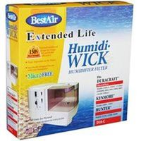 Bestair 0396911 Wick Filter for Use with Humidifier 8 0.25 x 9 x 2 in. Aluminum - White