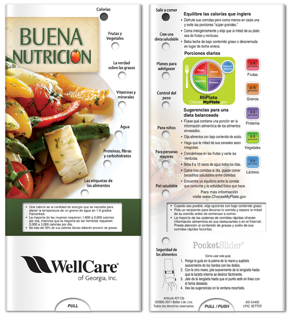 Better Life Line 2113 Good Nutrition - Pack of 10