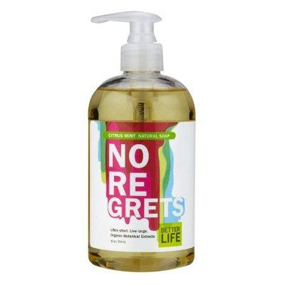 Better Life Soap Natural No Regrets Citrus Mint 12 Oz