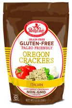 Betty Lous 652401 5.3 oz Paleo Friendly Italian Crackers