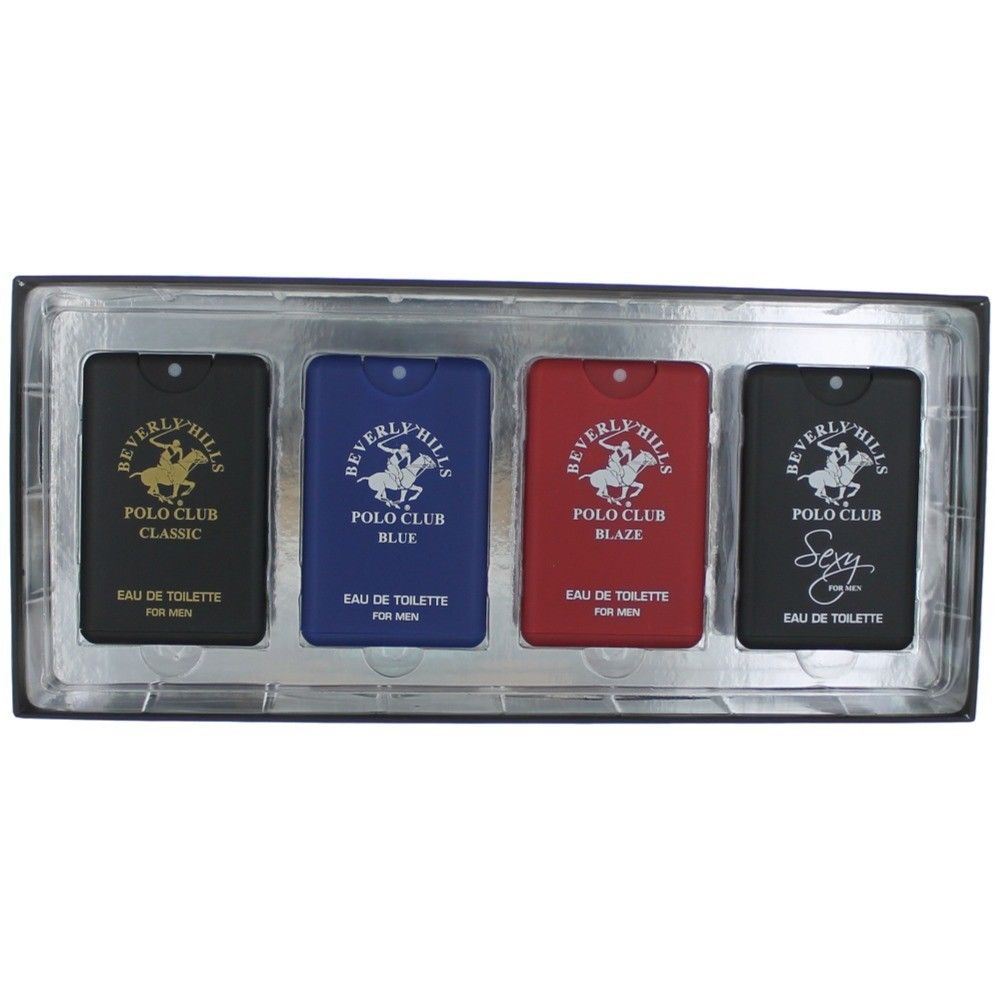 Beverly Hills Polo Club amgpcbh4p Pocket Collection Set for Men 4 Piece