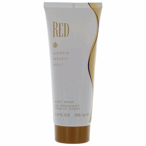 Beverly Hills awred67sg Red by Beverly Hills 6.7 oz Body Wash for Womens