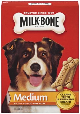 Big Heart Pet Brands 79100-51410 24 Oz Milk-Bone Dog Snacks For Medium Dogs