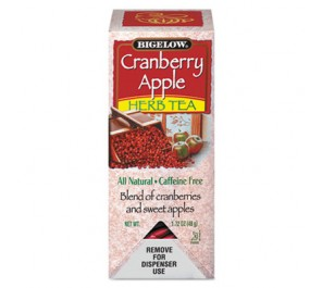 Bigelow 10400 Cranberry Apple Herbal Tea