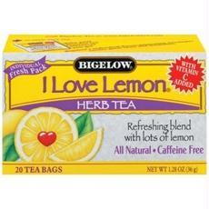 Bigelow B28242 Bigelow I Love Lemon Herbal Tea -6x20 Bag