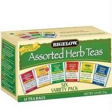 Bigelow B28245 Bigelow 6 Assorted Herbal Teas -6x18 Bag