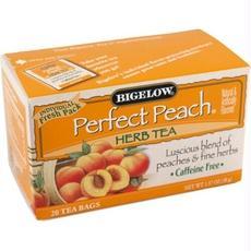 Bigelow B79030 Bigelow Perfect Peach Herbal Tea -6x20 Bag
