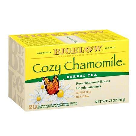 Bigelow Cozy Chamomile Herb Tea - 20 bags