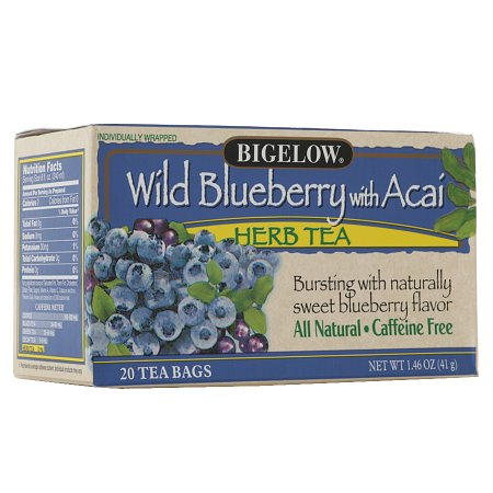 Bigelow Herb Tea Wild Blueberry w Acai - 0.07 oz.