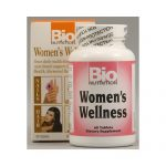 Bio Nutrition 1086081 Womens Wellness Tablets 60 Count
