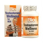 Bio Nutrition 1124486 Bio Nutrition Testosterone Wellness for Men - 60 Tablets