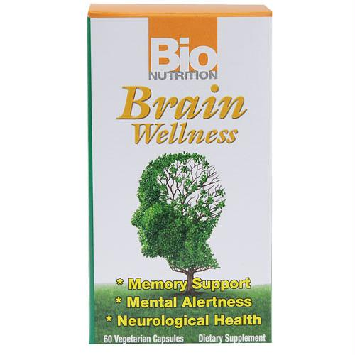 Bio Nutrition Brain Wellness - 60 Vegetarian Capsules - 1500958