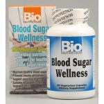 Bio Nutrition Inc 1029511 Blood Sugar Wellness - 60 Vegetarian Capsules