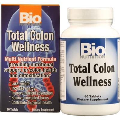 Bio Nutrition Inc 1043017 Total Colon Wellness - 60 Tablets