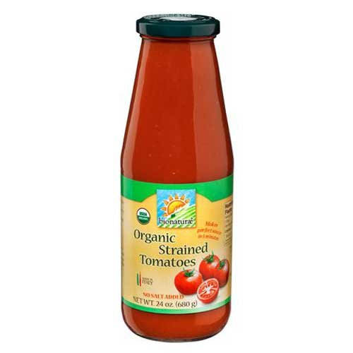 Bionaturae Strained Tomatoes 24 Oz -Pack of 6