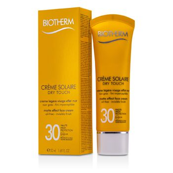 Biotherm 168366 1.69oz Creme Solaire SPF 30 Dry Touch Effect Face Cream
