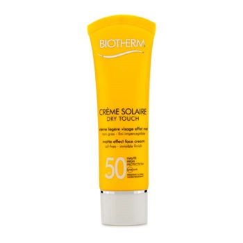 Biotherm 168371 1.69oz Creme Solaire SPF 50 Dry Touch Matte Effect Face Cream