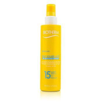 Biotherm 205943 6.76oz Spray Solaire Lacte Ultra-Light Moisturizing Sun Spray SPF 15
