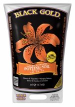 Black Gold/natures/sungro 1402040 16 QT U 16 Quart All Organic Potting Soil