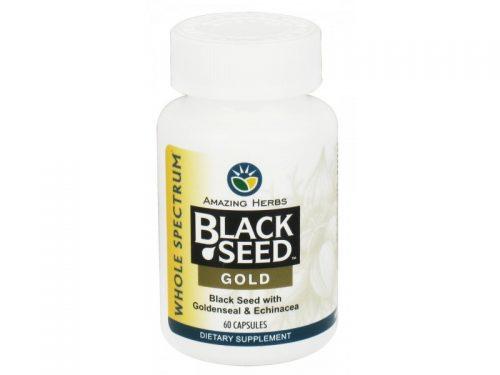 Black Seed 1383579 Black Seed Gold - 60 Capsules