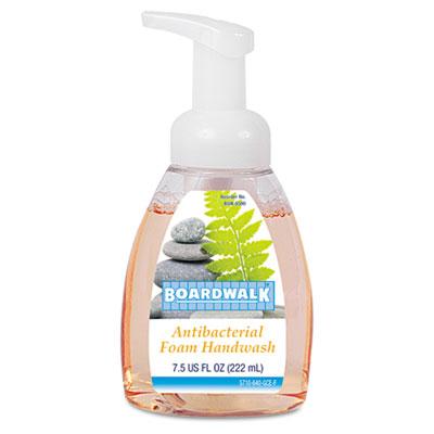 Boardwalk 8600EA Antibacterial Foam Hand Soap Fruity 7.5 oz Pump Bottle