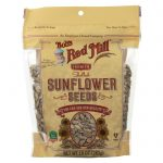 Bobs Red Mill 2153260 10 oz Sunflower Shelled Seeds - Case of 6