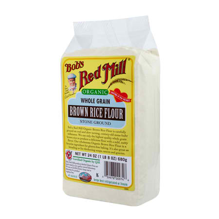 Bobs Red Mill BG10945 Bobs Red Mill Brn Rice Flour - 4x24OZ