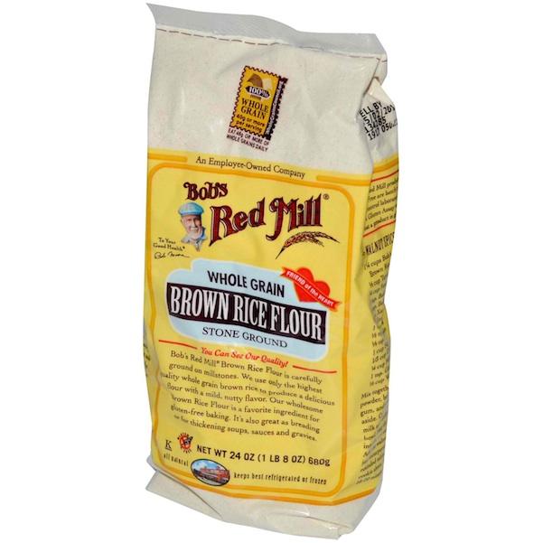 Bobs Red Mill BG11059 Bobs Red Mill Brown Rice Flour - 1x25LB