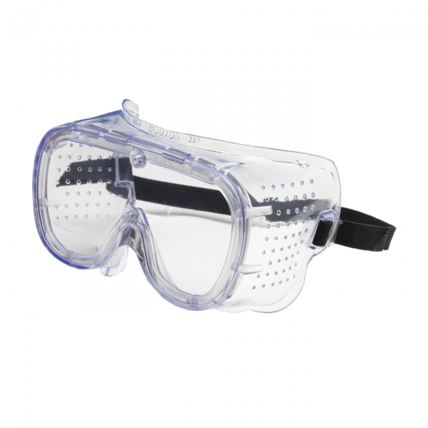 Bouton 112-5090400 550 Clear Frame Perforated Goggle with Softside