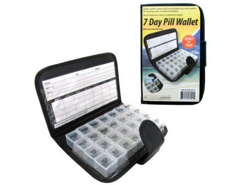 Bulk Buys OC147-6 7 Day Pill Wallet
