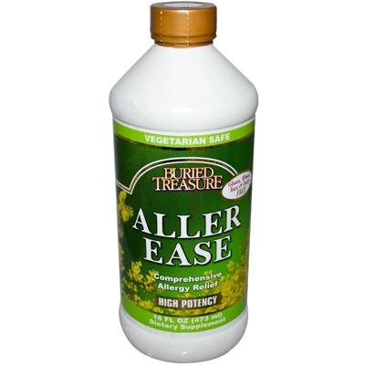 Buried Treasure Aller Ease Allergy Relief - 16 Fl Oz