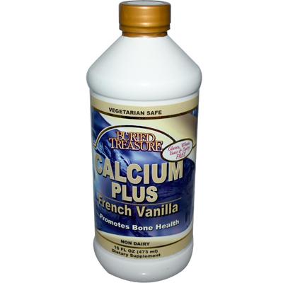 Buried Treasure Calcium Plus French Vanilla - 16 fl oz