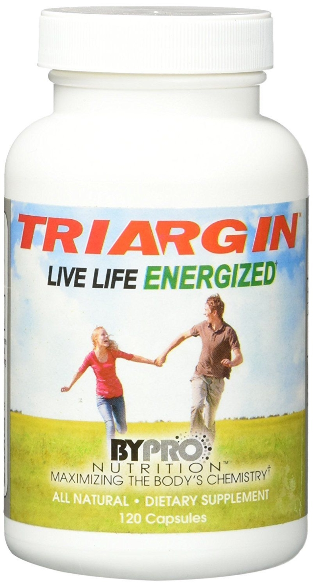 ByPro Nutrition 593342 Triargin Live Life Energized - 120 Capsules