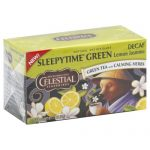 CELESTIAL SEASONINGS TEA GRN SLPYTIME LMN JAS-20 BG -Pack of 6