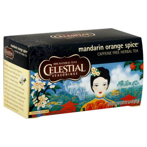 CELESTIAL SEASONINGS TEA HERB MANDARIN ORANGE-20 BG -Pack of 6