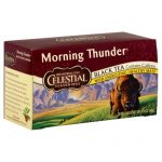 CELESTIAL SEASONINGS TEA HERB MORNING THUNDER-20 BG -Pack of 6