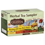 CELESTIAL SEASONINGS TEA HERB SAMPLER-18 BG -Pack of 6