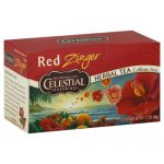 CELESTIAL SEASONINGS TEA ZNGR RED-20 BG -Pack of 6