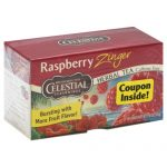 CELESTIAL SEASONINGS TEA ZNGR RSPBRY-20 BG -Pack of 6
