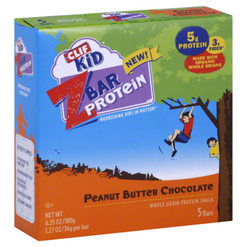 CLIF KID ZBAR 5CT PRTN PNTBTR CHOC-6.35 OZ -Pack of 6